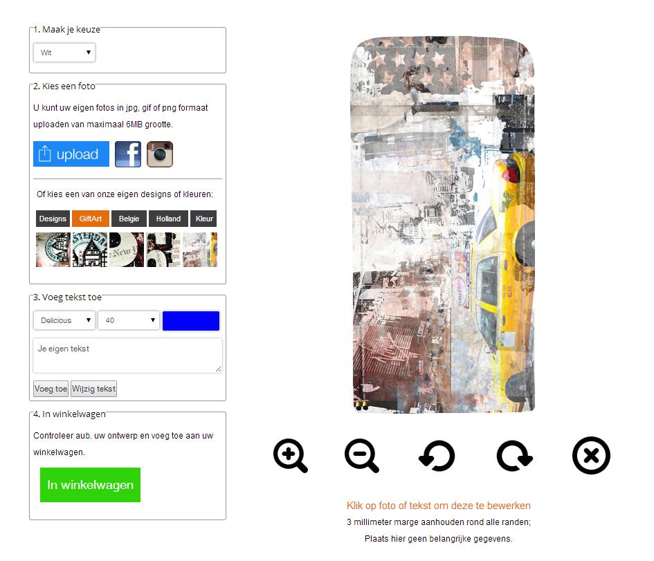 funda personalizada Samsung Galaxy S5