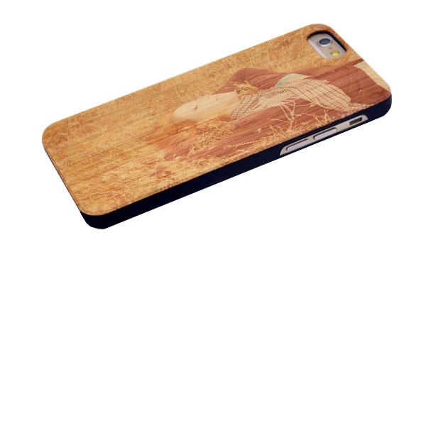 carcasas personalizadas de madera para iPhone 6 y iphone 6S