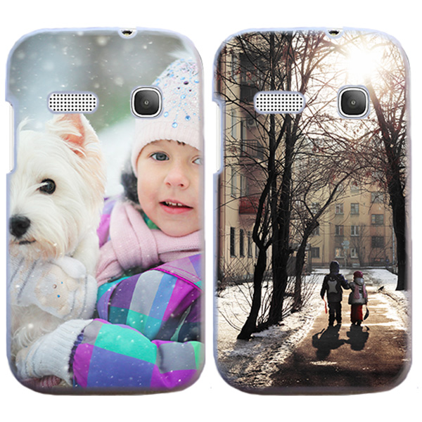 Funda Alcatel One Touch Pop C3 Carcasa Dura Personalizada Hardcase - Blanco