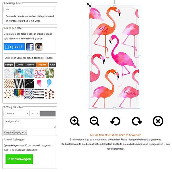 carcasa personalizada iPhone 5(S) y iPhone SE con tapa