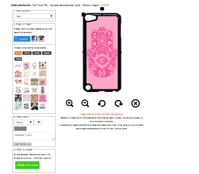 fundas personalizadas ipod touch 5G