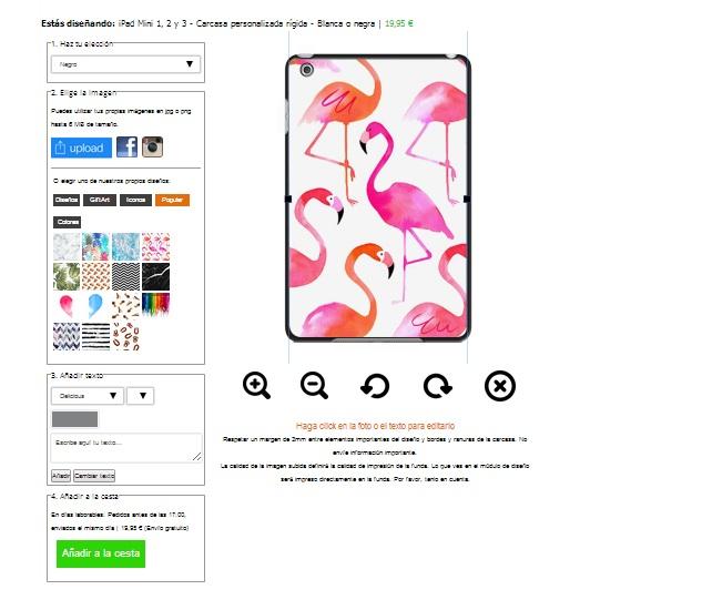 carcasa blanda para iPad Mini 4