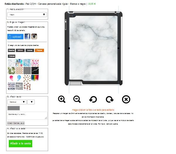 Fundas personalizadas iPad 2, 3 y 4
