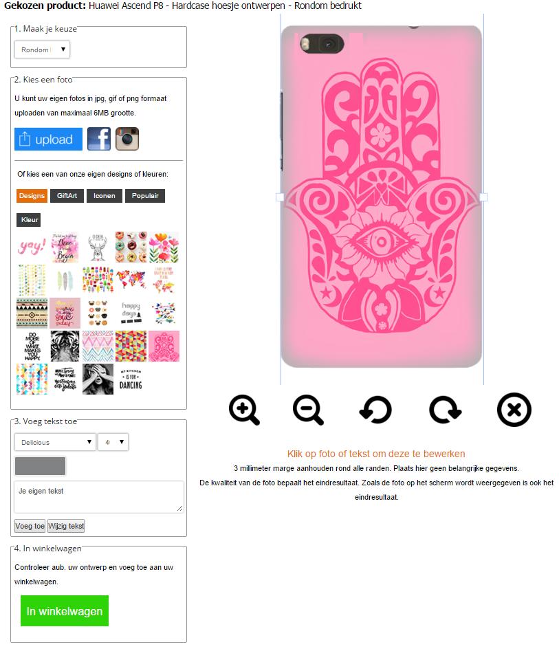 personaliza tu carcasa para Huawei Ascend P8 impresión 3D