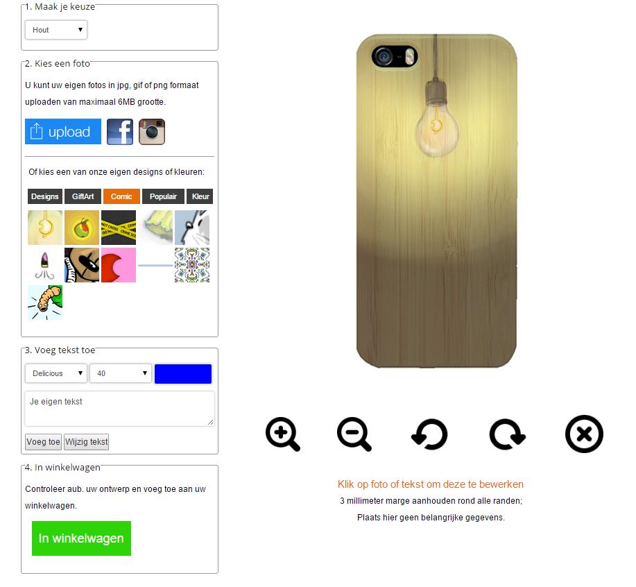 fundas personalizadas de madera para iPhone 6 y iphone 6S