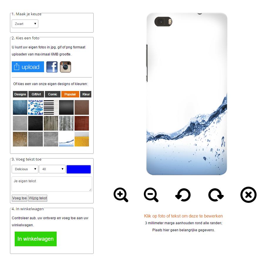 funda personalizada Huawei Ascend P8 lite