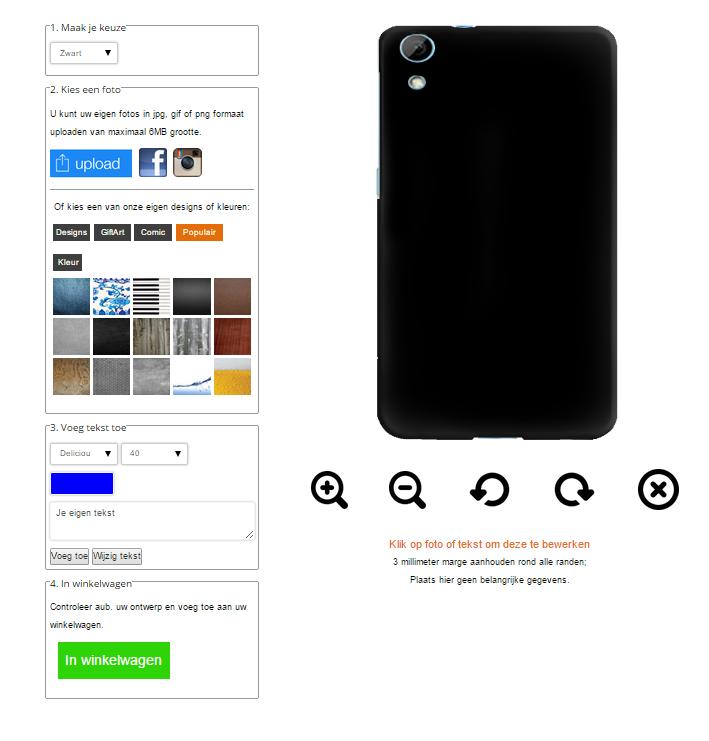 fundas personalizadas HTC Desire 820