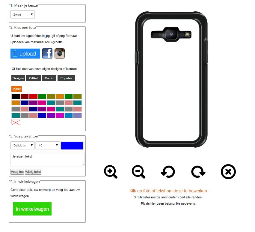 carcasas personalizadas Samsung Galaxy J1