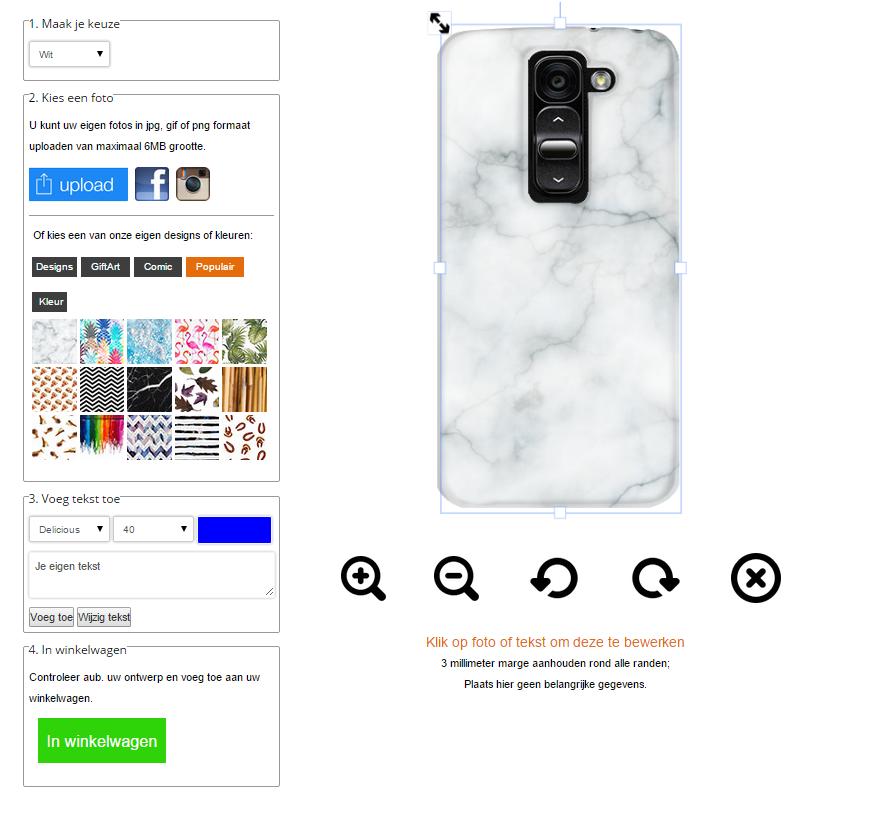Fundas personalizadas LG G2 mini