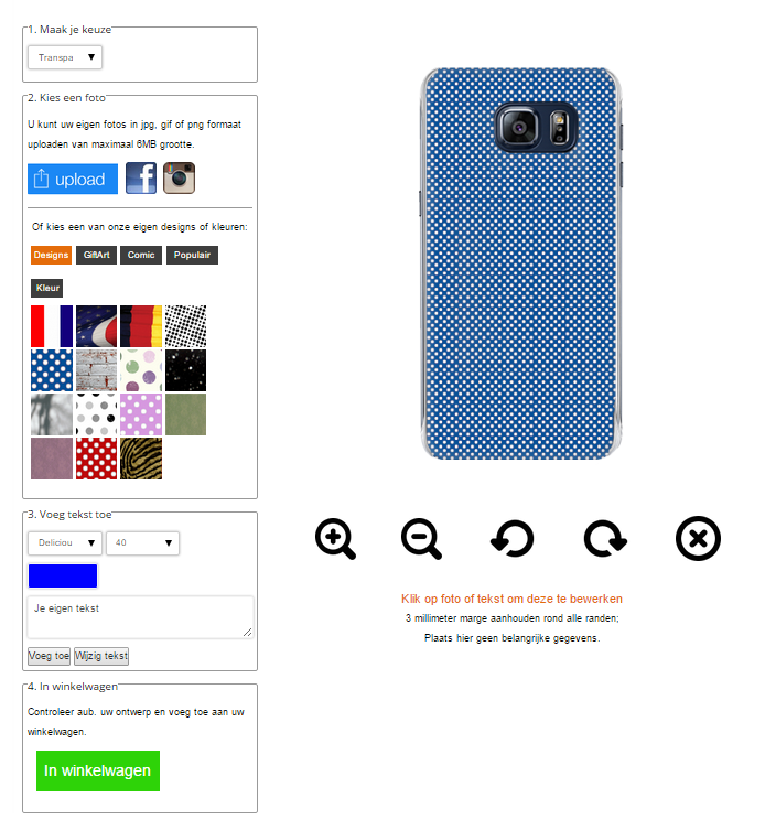 funda personalizada samsung Galaxy S6 Edge Plus +
