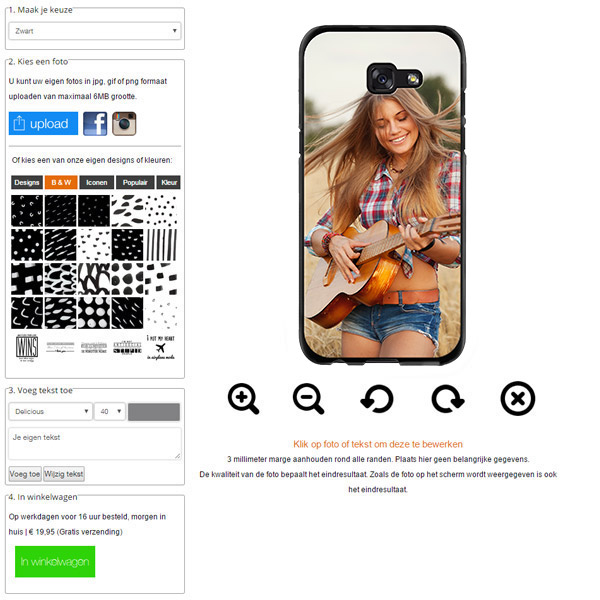 carcasa personalizada Galaxy A5