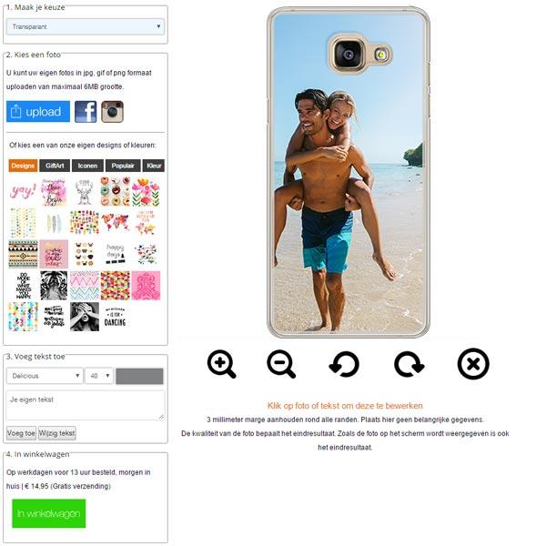 carcasas personalizadas Galaxy A5 (2016)
