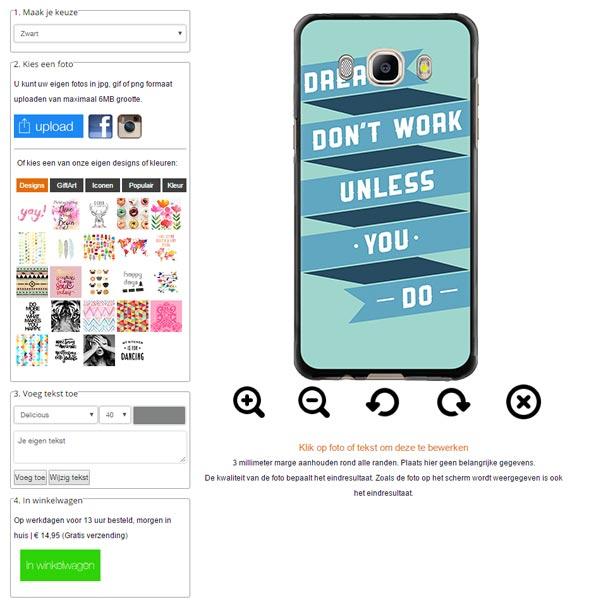 carcasas personalizadas para Samsung Galaxy J5
