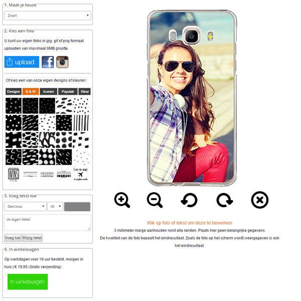 funda personalizada Galaxy J5 con foto