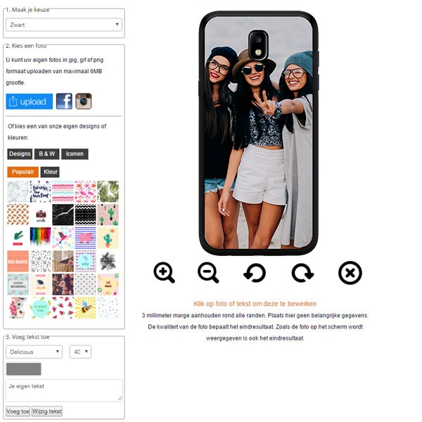carcasa personalizada Galaxy J5