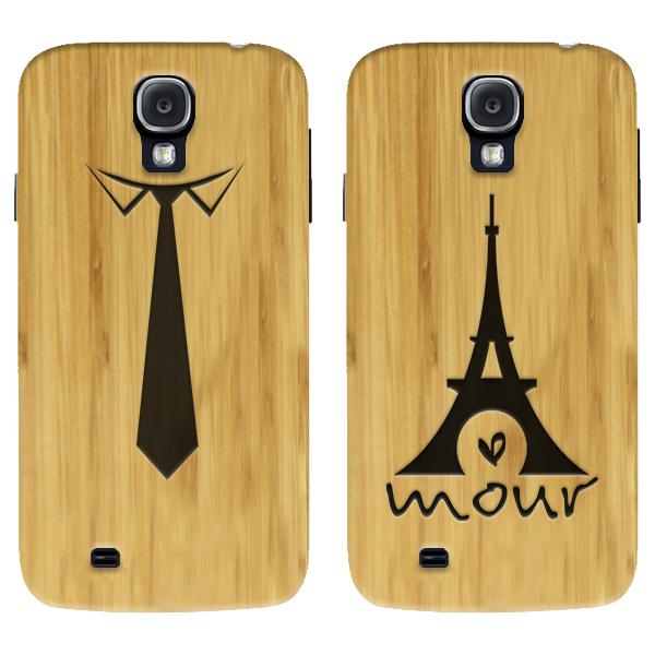 fundas de madera personalizadas para Samsung Galaxy S4