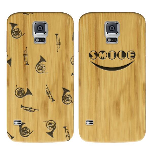 fundas de madera personalizadas para Samsung Galaxy S5
