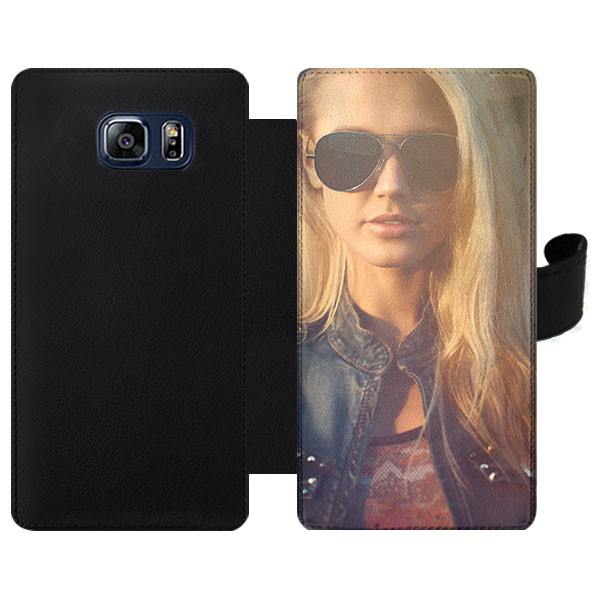 fundas personalizadas con tapa Samsung Galaxy S6 Edge