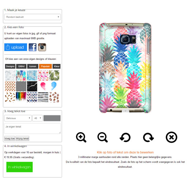 fundas personalizadas para Samsung Galaxy S6 Edge PLUS