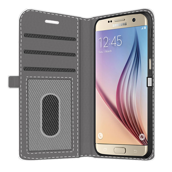 Funda Samsung Galaxy S5 Billetera Personalizada Monedero Wallet Case