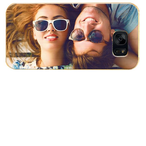 Carcasa de madera Galaxy S7 Edge