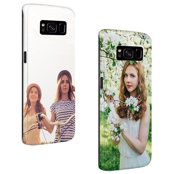 Carcasa personalizada Samsung Galaxy S8 rígida bordes impresos