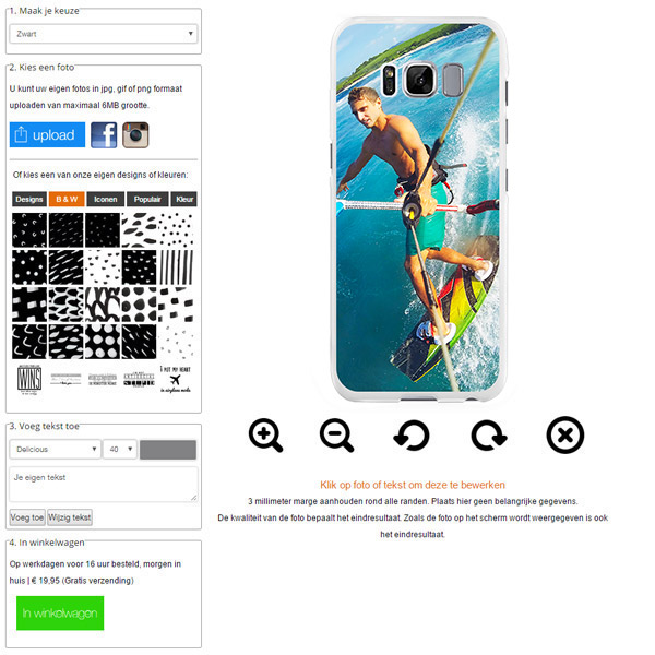Carcasa personalizada Galaxy S8 plus