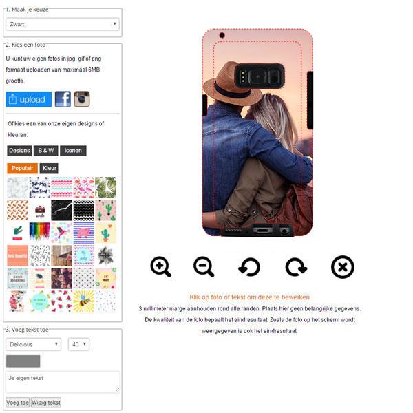 fundas personalizadas Samsung Galaxy S8 PLUS resistentes