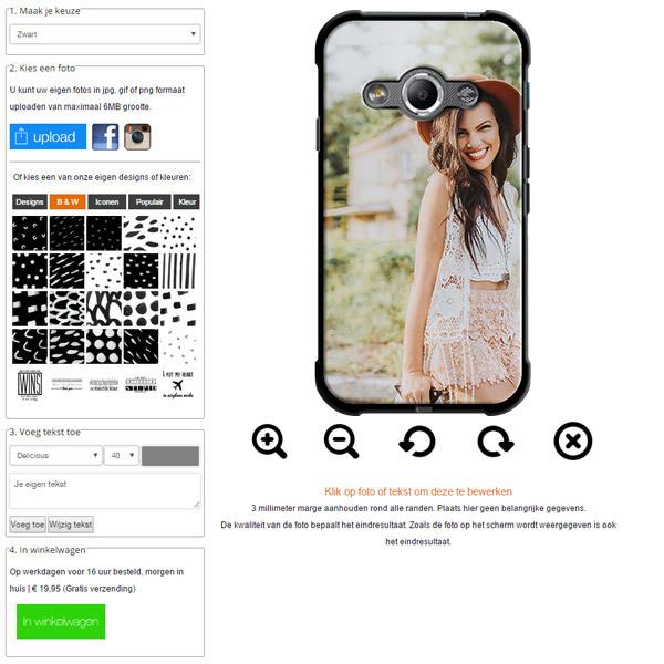 funda personalizada Galaxy Xcover 3