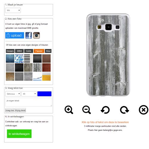 carcasa personalizada Samsung Galaxy A3 (2014)