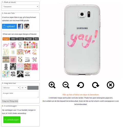 funda personalizada Samsung Galaxy S7
