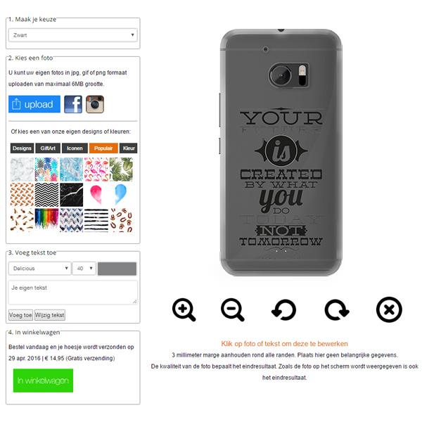 personaliza tu carcasa HTC 10