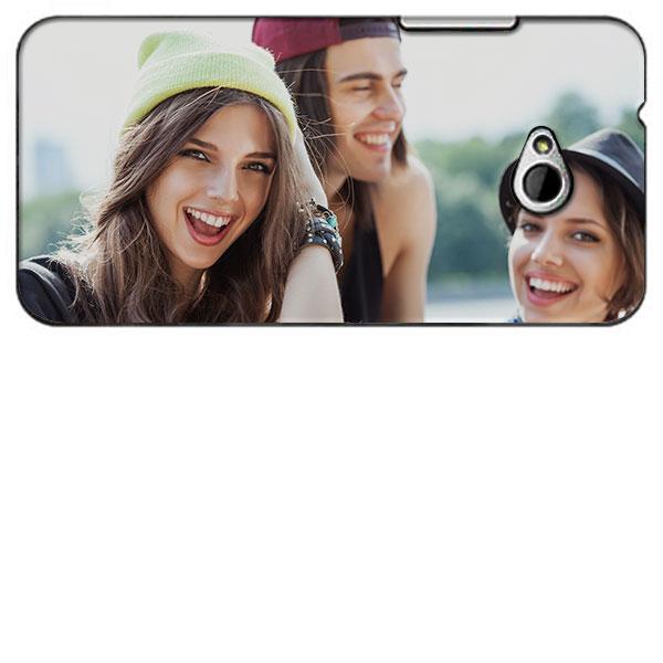 Funda HTC One Mini 2 - Carcasa personalizada Dura Hardcase en Negro