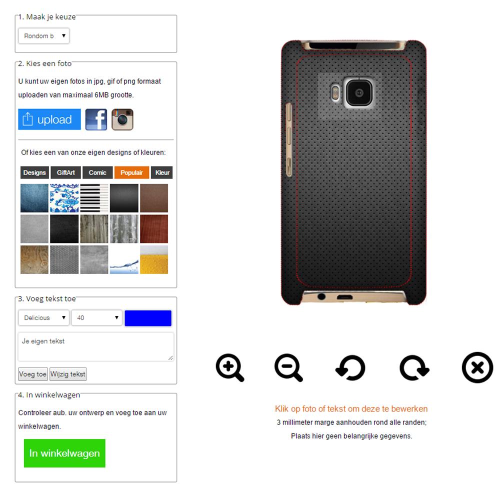 Carcasa personalizada HTC One M8