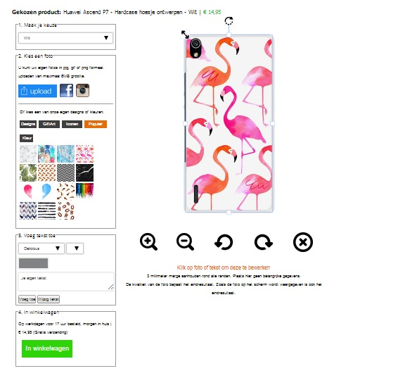 funda personalizada Huawei Ascend P7