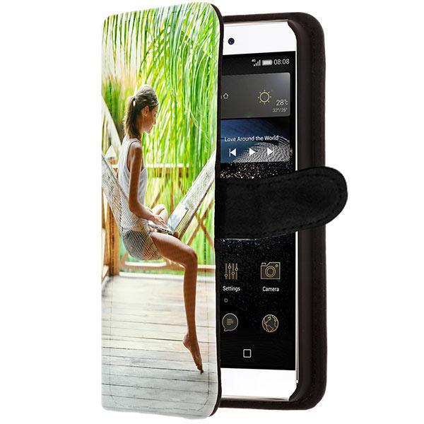 fundas billetero personalizadas Huawei P8