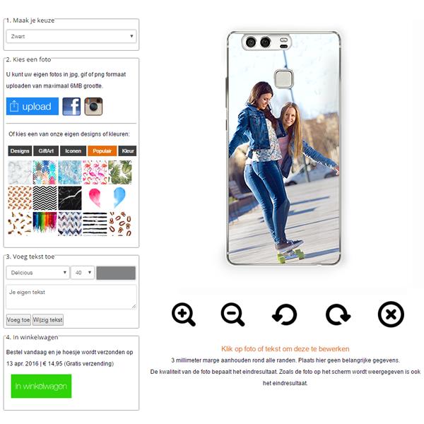 personaliza tu carcasa Huawei P9