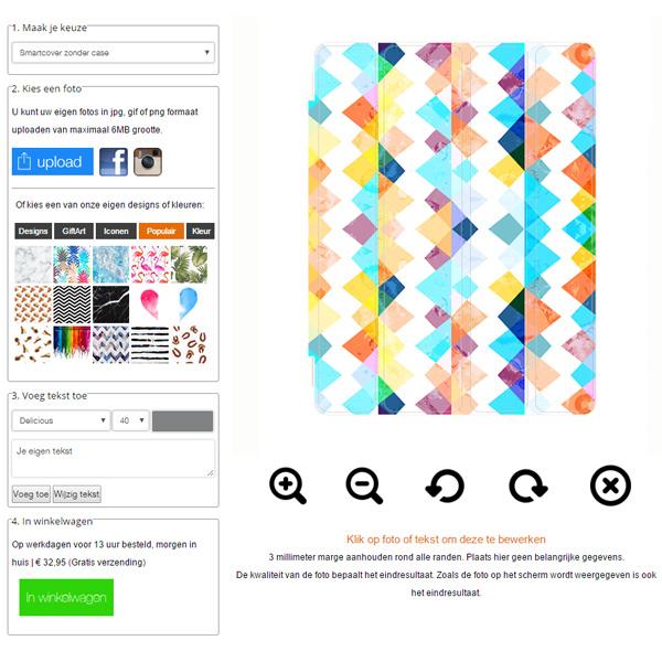 Funda personalizada flip cover iPad