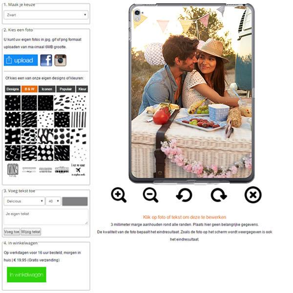 funda personalizada blanda ipad pro con foto