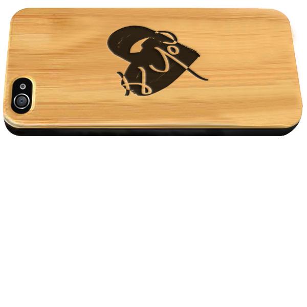 fundas de madera personalizadas para iPhone 4 y iPhone 4S