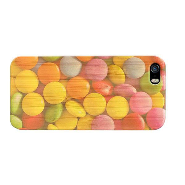fundas personalizadas de madera para iPhone 5(S) y iPhone SE