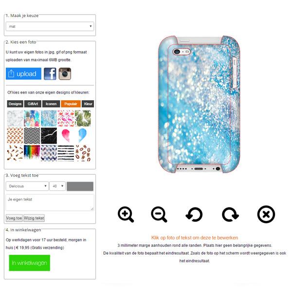 carcasa personalizada iPhone 5C