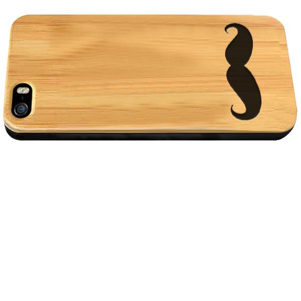 funda personalizada para iPhone 5(S) y iPhone SE de madera