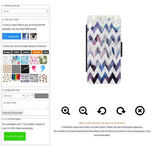 carcasa personalizada iPhone 5(S) y iPhone SE billetero