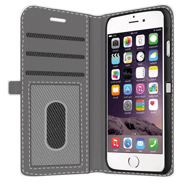 iPhone 6S fundas personalizadas cartera billetera impresión completa