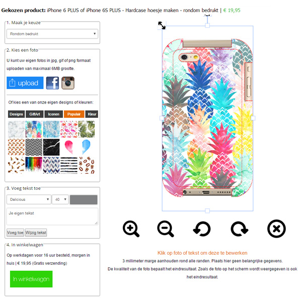 Fundas personalizadas iPhone 6S PLUS y 6 Plus