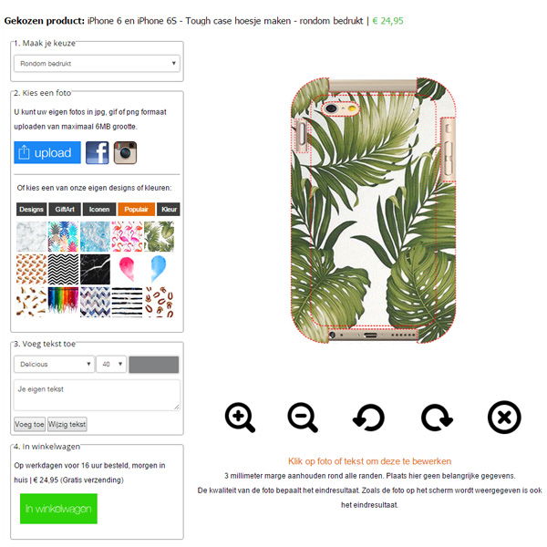 Funda personalizada iPhone 6S / 6