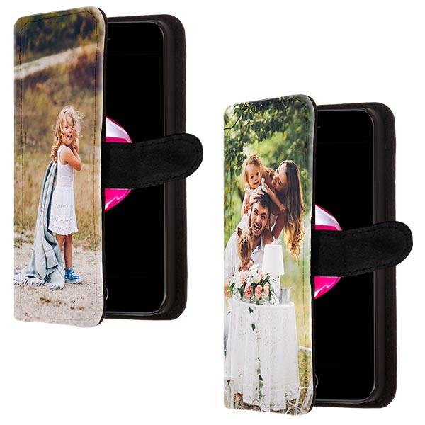 carcasas personalizadas iPhone 7 billetero