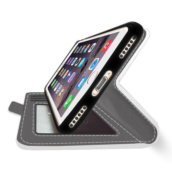 carcasa personalizada iPhone 7 billetera impresión completa