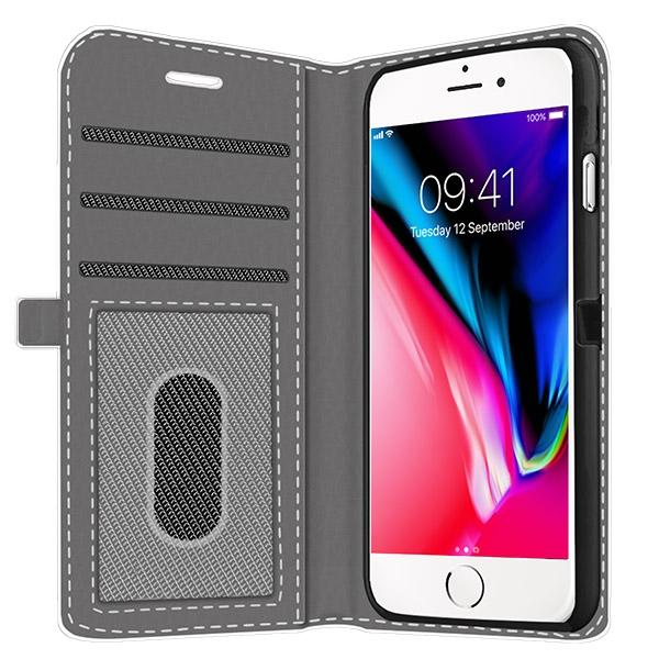 carcasas personalizadas billeteras iPhone 8